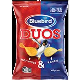 Photo of Bluebird Duos Hotwings & Ranch Potato Chips 140g
