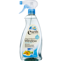 Photo of Earth Choice Glass Surface & Window Cleaner 600ml