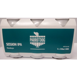 Photo of Parrot Dog Hawkeye Session IPA Cans 6 x 330ml Pack