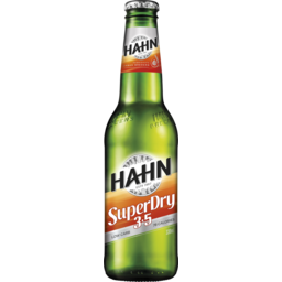 Photo of Hahn Super Dry 3.5 330ml Bottle