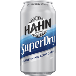 Photo of Hahn Super Dry Can