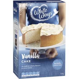 Photo of White Wings Vanilla Cake Mix 510g
