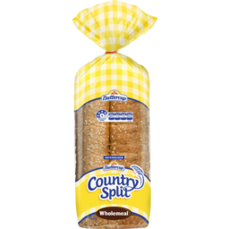 Photo of Buttercup Country Split Wholemeal Sliced Bread 450g