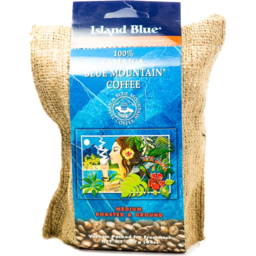 Photo of Island Blue Jamaica Blue Mountain Roasted And Ground Coffee Beans