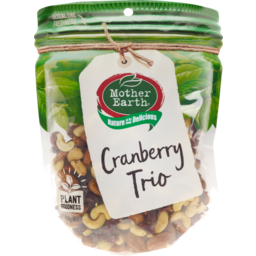 Photo of Mother Earth Cranberry Trio 450g