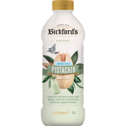 Photo of Bickfords Vegan Friendly Unsweetened Pistachio Milk 1l