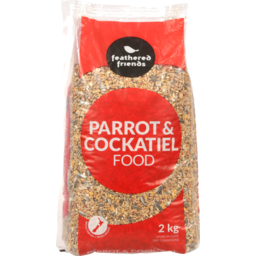 Photo of Feathered Friends Parrot & Cockatiel Food 2kg