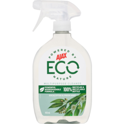 Photo of Ajax Eco Eucalyptus & Fresh Mint Multipurpose Cleaner Trigger Spray 450ml
