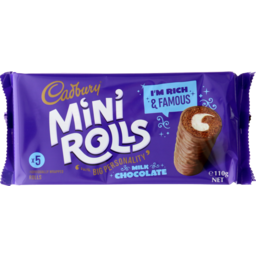 Photo of Cadbury Mini Rolls Milk Chocolate 5 Pack
