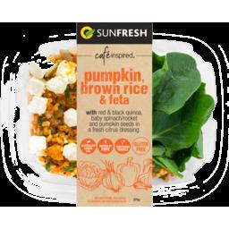 Photo of Sunfresh Pumpkin, Brown Rice & Feta Salad 275g