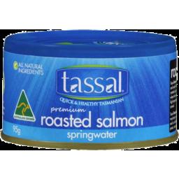 Photo of Tassal Premium Roasted Salmon in Springwater 95gm