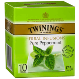 Photo of Twinings Herbal Infusions Pure Peppermint Tea Bags 10's