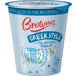 Photo of Brownes Yoghurt Greek Orig 170gm