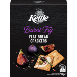 Photo of Kettle Burnt Fig Flat Bread Crackers 150g
