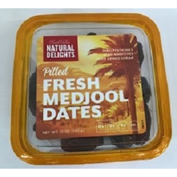 Photo of Bard Valley Natural Delights Fresh Pitted Medjool Dates 340gm