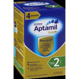 Photo of Aptamil Formula Multipack Gold+ Follow-On Sachet 4 Pack