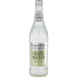 Photo of Fever Tree Cucumber Tonic Water Bottle