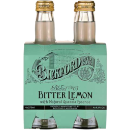 Photo of Bickfords Mixers Bitter Lemon 4pk