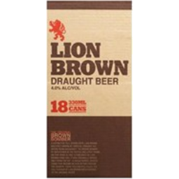 Photo of Lion Brown Cans 18 Pack