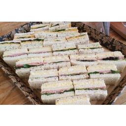 Photo of Sandwich Club Chicken, Pesto & Capsicum