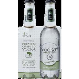 Photo of Vodka Plus Lemon & Lime Stubbies
