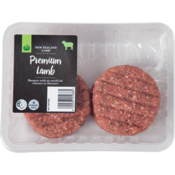 Photo of WW Burgers Lamb 4 Pack
