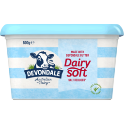 Photo of Devondale Dairy Soft Salt Reduced 500g