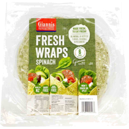 Photo of Giannis Wraps Spinach 6 Pack