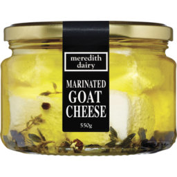 Photo of Meredith Dairy Marinated Goat Cheese 550g