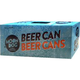 Photo of Moon Dog Lager Beer 10x330ml