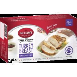 Photo of Ingham's Turkey Breast Traditional Roast 1kg