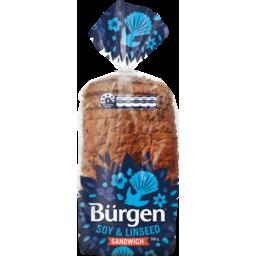 Photo of Burgen Bread Soy & Linseed Sandwich 700g