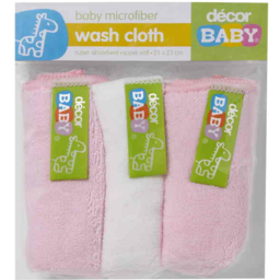 Photo of Decor Baby Fwasher Mfibre 3pk
