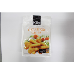 Photo of Kb's Calamari Chips Crumbed New Zealand 1kg