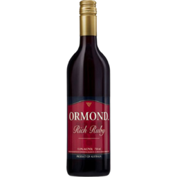 Photo of Ormond Rich Ruby Port 750ml