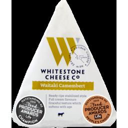 Photo of Whitestone Cheese Camembert Waitaki 110g