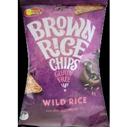 Photo of Sunrice Brown Rice Chips Wild Rice 150g