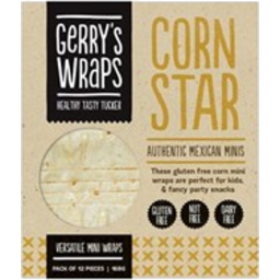 Photo of Gerry's Wraps Corn Star 168g