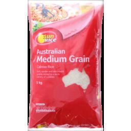 Photo of Sun Rice Australian Medium Grain White Rice 5kg