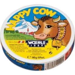 Photo of Happy Cow Cheese Portions 140g