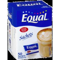 Photo of Equal Sachets 50 Sachets 40gm