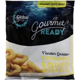 Photo of Global Squid Rings Crumbed 500gm