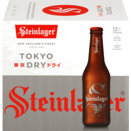 Photo of Steinlager Tokyo Dry 12 Pack