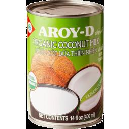 Photo of Aroy-D Organic Coconut Milk 400m