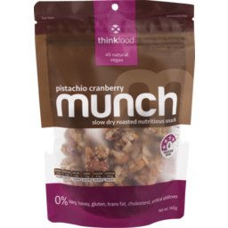 Photo of Thinkfood Munch Nutritious Snack Pistachio Cranberry 140g 140g