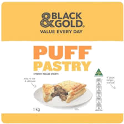Photo of Black & Gold Pastry Sheets 1kg