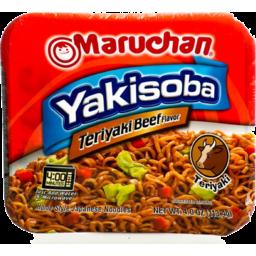 Photo of Maruchan Yakisoba Teriyaki Beef Flavor Home-Style Japanese Noodles