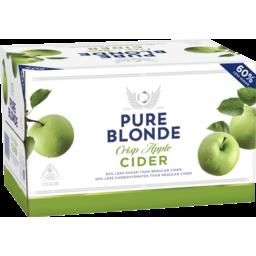 Photo of Pure Blonde Crisp Apple Cider Stubbies