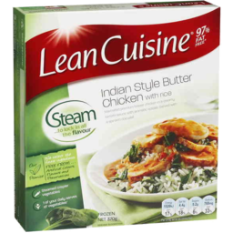 Photo of Lean Cuisine Indian Style Butter Chicken With Rice 370g
