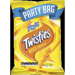 Photo of Twisties Zigzag Wicked Cheddar 125g